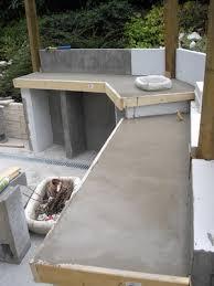 aménagement cuisine d été cuisine d ete en beton