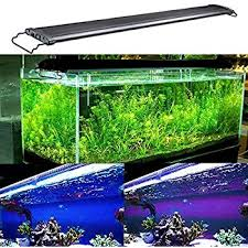nicrew led aquarium light fish tank light with