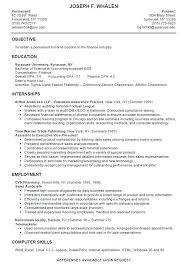 Resume Sample Student Example College Examples As Resumes High