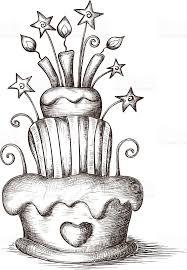 Drawn birthday sketch art 5