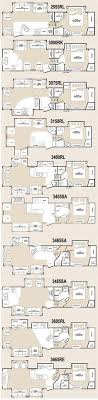 best 5th wheel floor plans fifth wheel floorplans cing