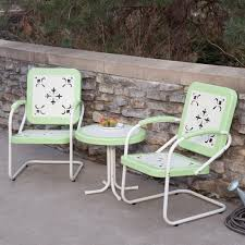 Coral Coast Paradise Cove Retro Metal Chat Set Outdoor ...