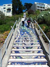 san francisco the 16th avenue tiled steps project incoherentboy