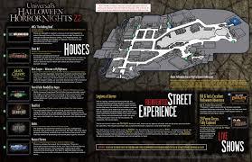 Halloween Horror Nights Parking Orlando by Behind The Thrills Halloween Horror Nights 22 Map Is Released