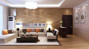 modern leather sectional living room house decor picture
