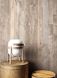 holz tapete vlies beige braun grau edel schöne edle tapete im holzwand design moderne 3d optik für wohnzimmer schlafzimmer oder küche inkl
