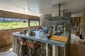 Industrial Kitchen Island Design Bar Stool Window On Wheels