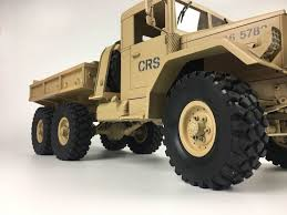 100 Rc Truck Kit CrossRC HC6 Off Road Military 112 Scale 6x4