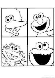 Sesame Street Coloring Pages 39
