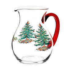 Spode Christmas Tree Glasses by Spoce Christmas Tree Casual Glassware