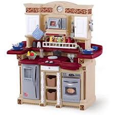 Step2 Grand Luxe Kitchen Toys by Amazon Com Step2 Lifestyle Deluxe Kids Pretend Kitchen Toys U0026 Games