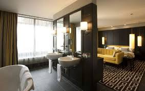 Open Bathroom Concept For Your Master Bedroom Chic Open Concept Bedroom And Bathroom Ideas Combination
