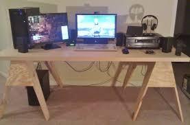 budget solid wood diy desk build log