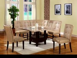 Dinette Sets With Caster Chairs by Furniture Winsome Square Dining Table Counter Height Marble Top