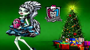 Steins Christmas Trees by Monster High Frankie Stein New Year Look Dress Up Game For Girls