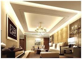 Gypsum Ceiling Designs For Living Room Interior Ideas