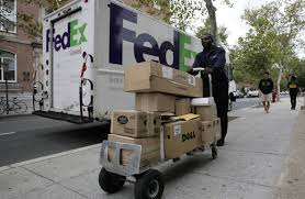 Web Shoppers Beware: FedEx To Charge By Package Size - WSJ Overturned Fedex Truck Shuts Down Part Of I95n In Westwood Necn Tnt Express Track Parks Dtown Melbourne Australia Express Pickup And Delivery Service Options Freight Ltl Shipping Forms Canada Hazardous Materials Forecasts Record Volume This Holiday Season Volvo Trucks Successfully Demonstrate Platooning On Advanced Shipment Tracking Web Shoppers Beware To Charge By Package Size Wsj Caught Video Uta Frontrunner Train Crashes Into Truck