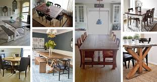 17 Best Rustic DIY Farmhouse Table Ideas And Designs For 2018