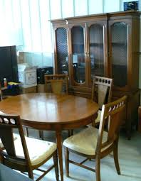 Used Dining Room Furniture Kitchen And Second Hand Pertaining To