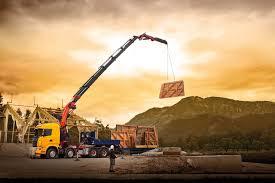 MOBILE CRANE Construction Truck Semi Tractor Ariel Cranes Boom ...