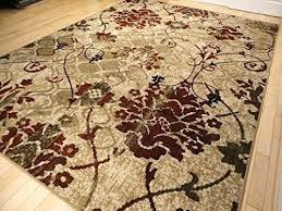 Red And Cream Rug Modern Burgundy Rugs Living Dining Room Beige Area