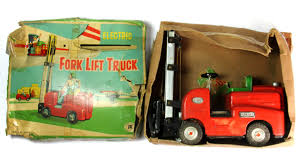 100 Toy Forklift Truck A Vintage Tin Toy Forklift Truck Lofty Marketplace