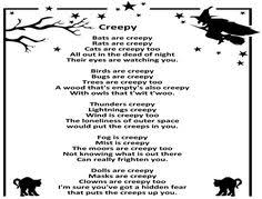 Poems About Halloween For Kindergarten by Halloween Poems For Kids Halloween Poems