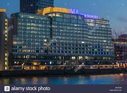 100 Sea Containers House Address Southwark London Stock Photo