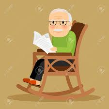Old Man Sitting In Rocking Chair And Reading Newspaper. Vector.. Clipart Sitting In Chair Clip Art Illustration Man Old Lady Sleeping Rocking Woman Playing Cat On Illustration Amazoncom Mtoriend Kodia Rocking Chair Patio Wave Of A Mom Sitting With Her Baby Western Clip Art White Hbilly Cowboy An Elderly A Black Relaxing In Sit Up For 5 Month Pin Outofcopyright Black Man