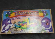 Vintage Parker Brothers Grape Escape Board Game 1992