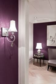 Deep Purple Bedrooms by Interior Winsome Purple Wall Painting Inspiring Designs For Your