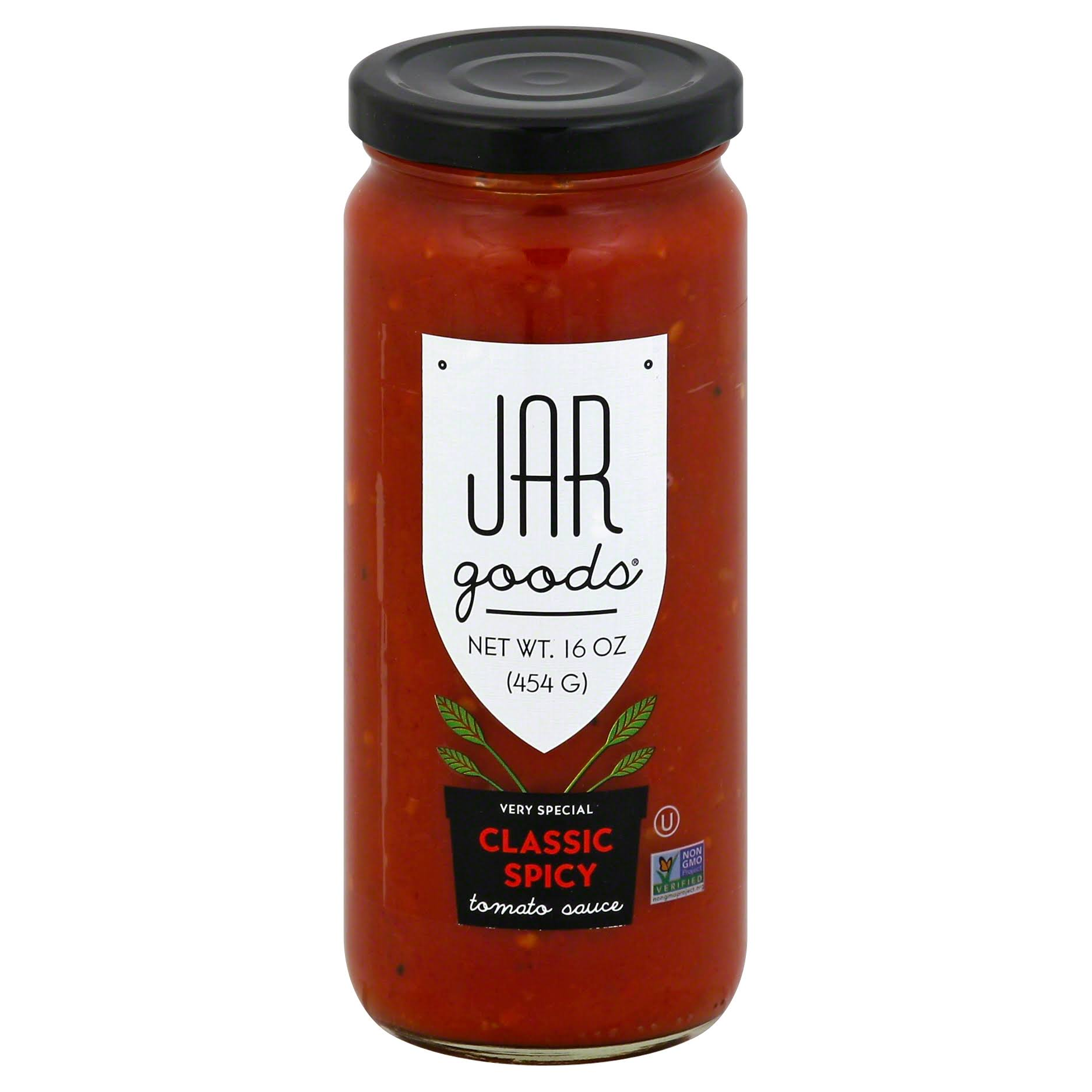 Jar Goods Tomato Sauce, Very Special, Classic Spicy - 16 oz