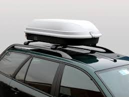 coffre toit de voiture coffre toit gris