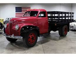 1947 Studebaker Stake Bed Truck For Sale | ClassicCars.com | CC-791629 1947 Studebaker Truck M Series Flatbed Youtube Muscle Car Ranch Like No Other Place On Earth Classic Antique Gianpieros Blog Vivek Nigams Pickup For Sale Classiccarscom Cc1004198 Any Pus In Hamber Land The Hamb Yellow Sale United States 26950 Models Near Cadillac S1301 Dallas 2016 Studebaker M5 12 Ton Pickup 1954 Joels Old Pictures