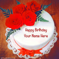 Cake · Red Rose Birthday