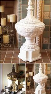Repurposed Lamp Base Finial