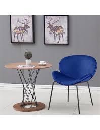 2 samt sitz esszimmerstühlen mit effekt metallbeinen