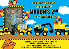 Construction Truck Birthday Superb Truck Birthday Invitations ... Birthday Cstruction Themed Party With Free Printables  Noted Trucks Pictures Amazon Com 12340 Watsons Cstruction Truck Birthday Party Holy City Chic Truck Dessert Cake Plates Napkins And Cups Home Ideas Invitations Monster Fire Envelopes First Themed Invites Items Similar To Augustines 2nd M Loves Stay At Homeista Boys Name Age Poster Crane