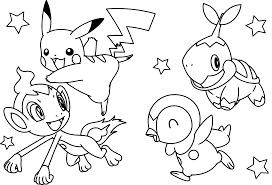 Wonderful Pikachu Coloring Sheets Design
