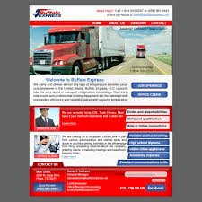 Serious, Professional, Trucking Company Web Design For Buffalo ... Temperature Sensitive Freight Ltl Trucking Transport Services For Ontario And Quebec Truckload Tyco Us 1 Semi Tractor Trailer Slot 1857816454 Home Golden Express Inc First Nikola Goes To Youtube Logistics Company Kansas City Mo 247 Railway Agency Conway Tracking Navajo Heavy Haul Shipping Services Truck Driving Careers Specialists In Eawest Return Road Gkr The Dubai Legends Of Long Haulage Chapter One Heartland