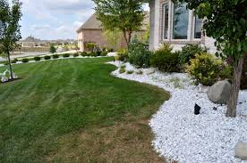 White Rocks For Landscaping Front Yard