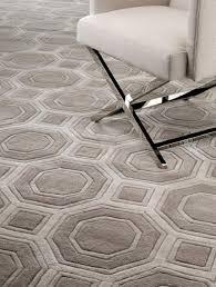 casa padrino luxus wollteppich braun grau verschiedene größen handgetufteter luxus teppich aus neuseeland wolle