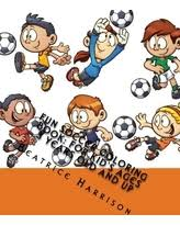 Fun Soccer Coloring Book For Kids Ages 3 Years Old And Up