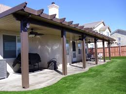 Patio Covers Las Vegas by Decorating Cool Alumawood Patio Covers In Brown With White