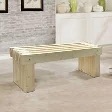details zu holzbank sitzbank massivholz esszimmerbank 110cm küchenbank esszimmer gartenbank