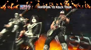 KISS Freedom To Rock Tour 2016 TV Ad