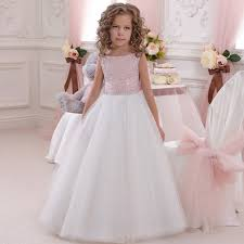 cheap white flowergirl dress aliexpress alibaba