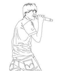 Here You Can Find Justin Bieber Coloring Pages