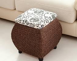 footstool pouf etsy