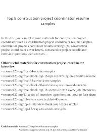 Sample Construction Worker Resume For Entry Level Samples